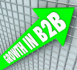 Growth in B2B Sales Business Company Selling Products