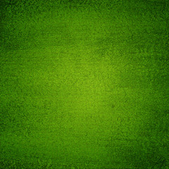 Green canvas texture abstract  background with vignette