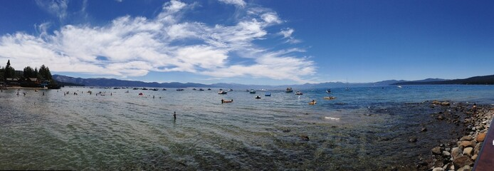 Pano Lake Tahoe
