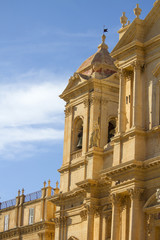 Noto cathedral at Sicily