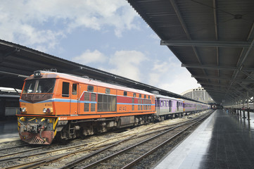 Train at Bangkok