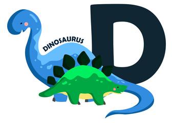 D for Dinosaurus