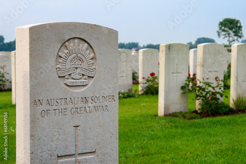 An unknown Australian soldier of the great world war one. - 68149186