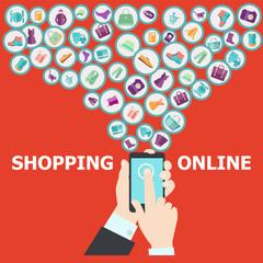 digital marketing  pattern background vector illustration