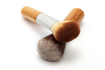 Face make-up brushes