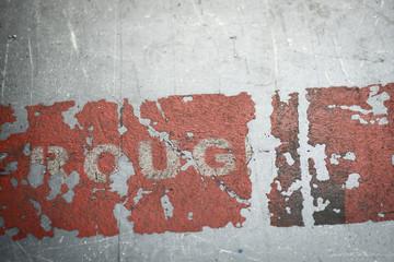 Inscription ligne rouge