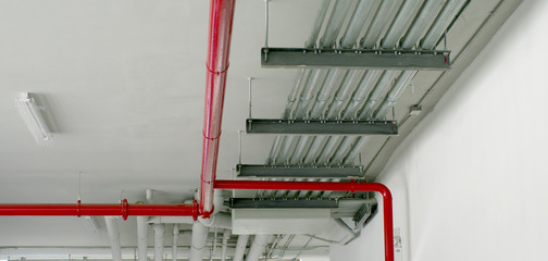 system pipe in red