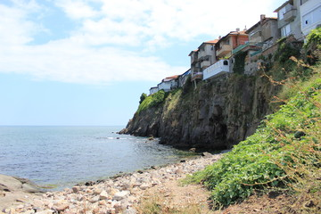 Stone coast of Sezopol