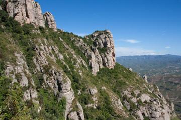 Montserrat Gebierge in Spanien