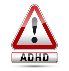 ADHD - Attention deficit hyperactivity disorder - isolated sign