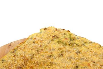 frittata di verdure biologiche