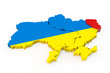 Ukraine map Luhansk