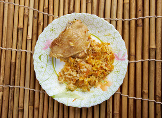 curry rice with chicken