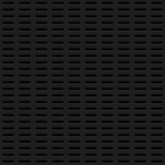 Black Background with Perforated Pattern