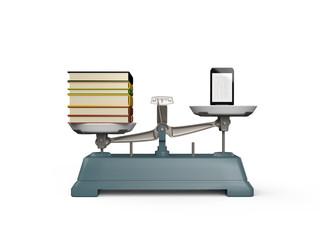 電子書籍と書籍