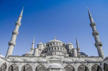 Blue Mosque@Istanbul-Turkey