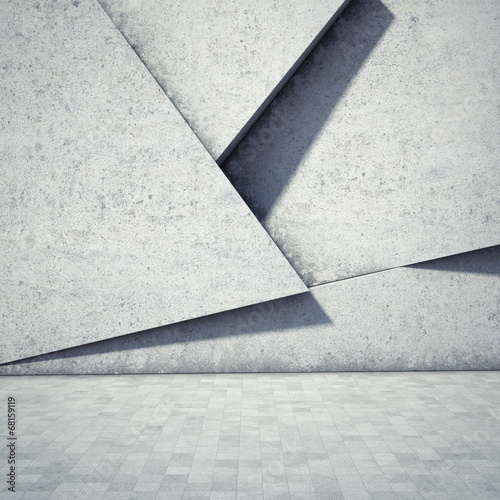 Foto op Canvas Wand Abstract geometric background