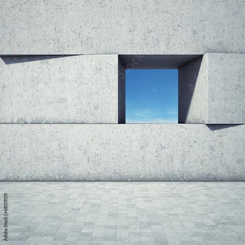 Zdjęcia na płótnie, fototapety, obrazy : Abstract window