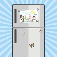 vector refrigerator