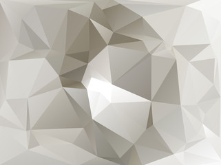 Abstract polygon polygonal white gray
