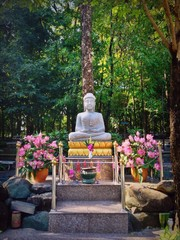 The peaceful meditation place in Saraburi, Thailand