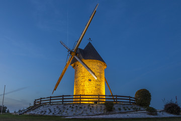 Moulin de nuit