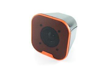 speaker white background