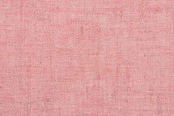 Red Natural Linen Textile Texture