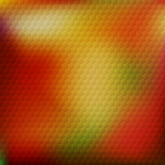 Abstract background with honeycomb pattern