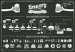 brewery infographics - beer design elements & icons - 68160910