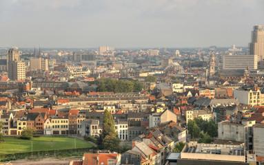 Blick über Antwerpen