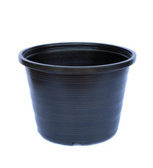 Image of plant pots black