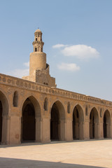 Ibn-Tulun-Mosque in Cairo, Egypt
