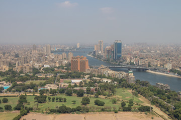 Scenic view of Cairo in Egypt