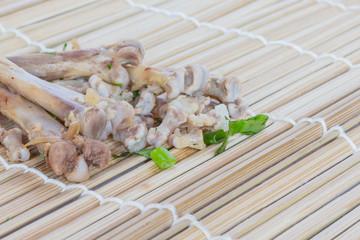 Chicken wings bones