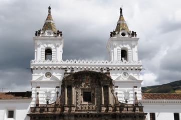Ecuador, Quito, church and convent of San Francisco