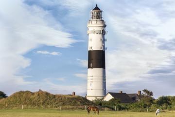 Lighthouse of Kampen on Sylt