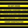 Under construction lines - 68163575