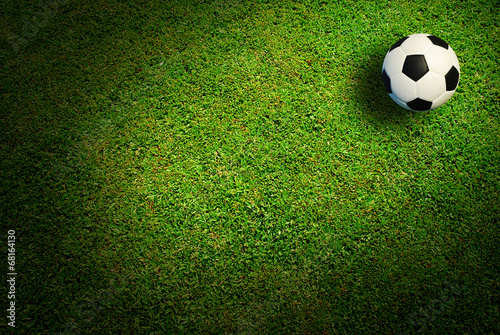 canvas print picture Soccer ball football sport