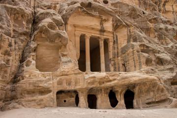 Temple in Little Petra, Jordan