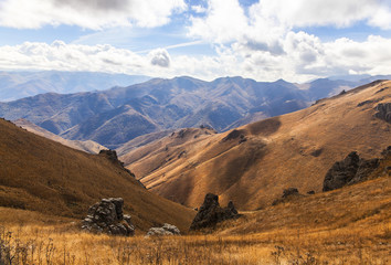 Mountain landscape in Armenia