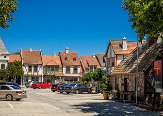 Danish town of Solvang in California
