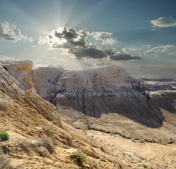 Gorges of plateau Shalkar-Nura