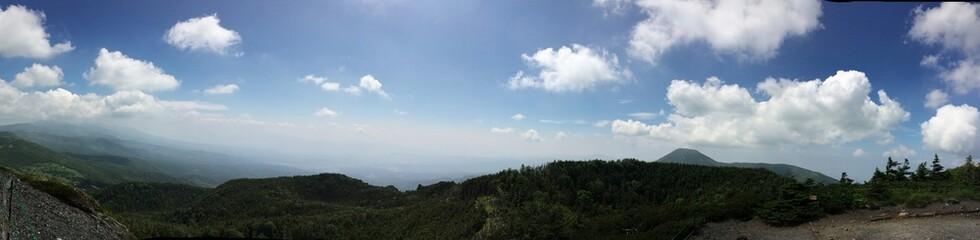 北横岳からの展望 パノラマ