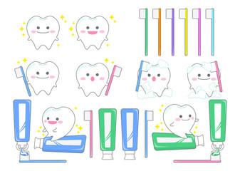 歯磨きキャラクター