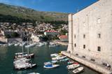 St John's Fortress and Harbour, Dubrovnik, Croatia,