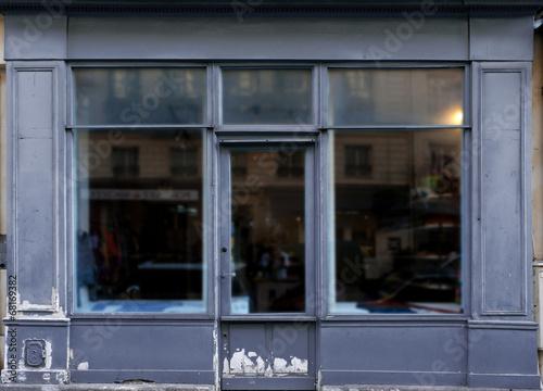 Old blue shop - 68169382