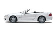 White car cabriolet - 68169796