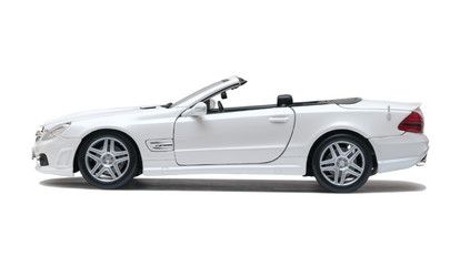 White car cabriolet