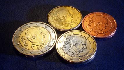 belgium euro coins 2014